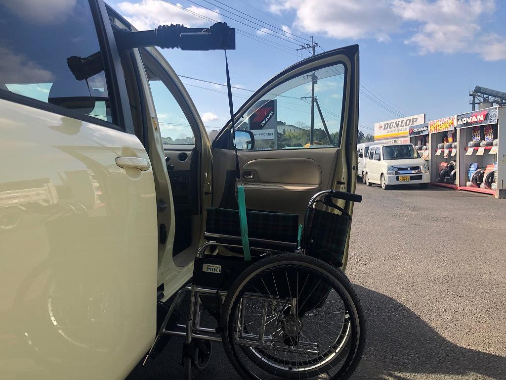 宮崎 福祉車両 トヨタ シエンタ ピラーリフト 車イス積み込み 車イスクレーン