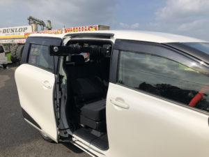 トヨタ シエンタ ピラーリフト 車椅子収納