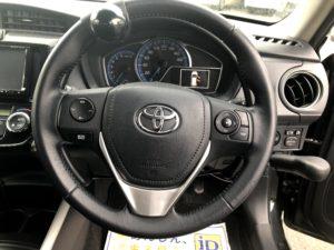 トヨタ カローラフィールダー 手動運転装置 アクセルリング ブレーキレバー ステアリングデバイス 福祉車両