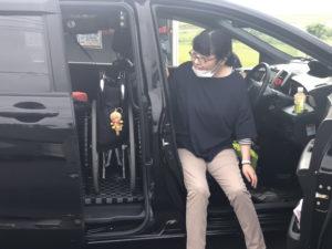 ホンダ フリード フリードスパイク 宮崎 福祉車両 ピラーリフト 車イス積み込み 車イスクレーン 車椅子収納 車椅子積み込み