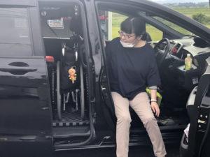 ホンダ モビリオ モビリオスパイク ピラーリフト 車椅子 車椅子収納 車椅子積み込み